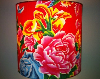 lampshade - chinoiserie chic