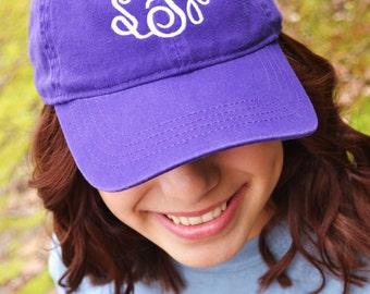 Ladies Monogrammed Cap