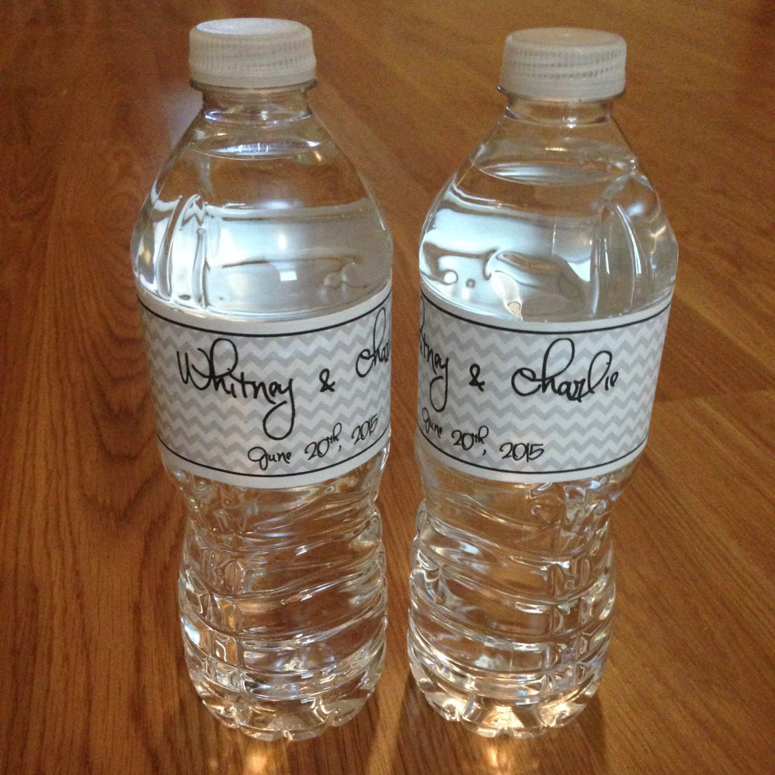 water bottle labels wedding water bottle labels