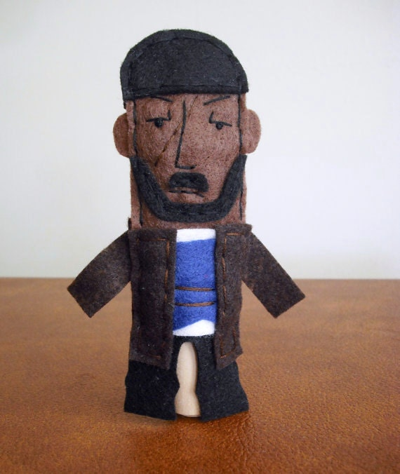 Omar Little Felt Finger Puppet - Free shipping!