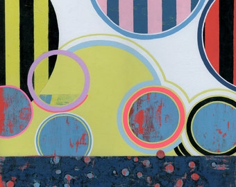 Bounce - Original Acrylic Abstract Art Painting