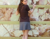 Element Hemp Flare Mini Skirt