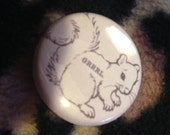 SKRRRL  1 inch pin