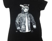 Shirt - Vato Gato (WOMENS) originally from a Painting by Ray Young Chu