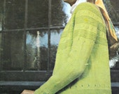 Knitting Patterns Skirt and Cardigan by Lois Holmes Bouquet HK - 711 Women Sweater Vintage Paper Original NOT a PDF