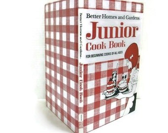 SALE | Vintage Junior Cook Book by Better Homes and Gardens
