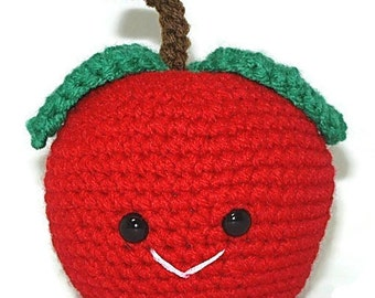 Crocheted Apple Plushie