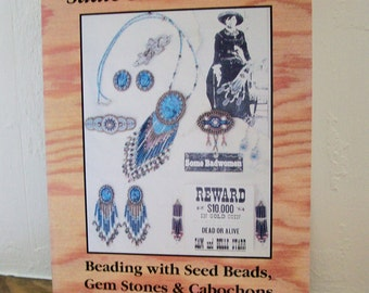 "Beading Book ""Sadie Starr Presents"" Beading Seed Beads, Gemstones Cabochons Beadwork Jewelry Crafts"