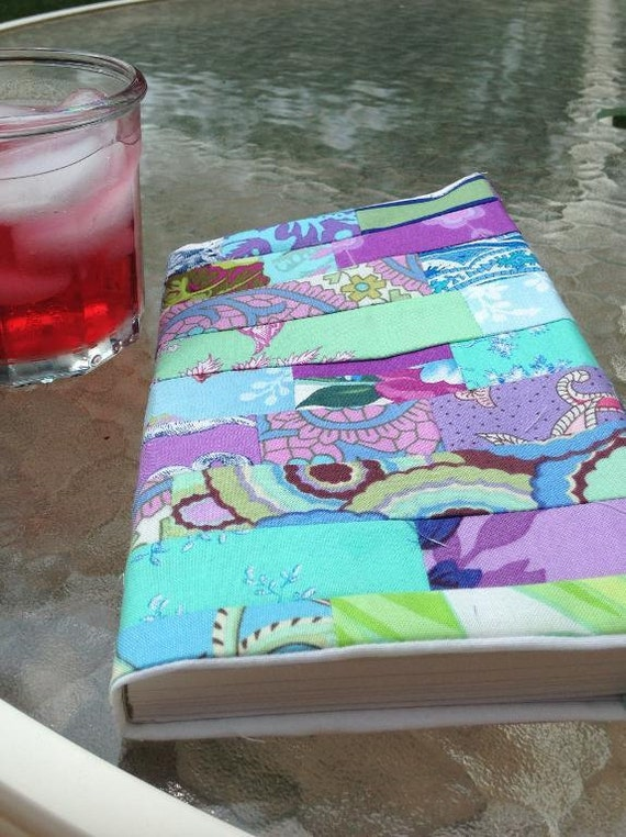 A Fabric Book Cover Pattern ~ A book fabric cover pattern pdf for download