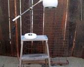 Sonneman Eyeball Lamp 60s Table Lamp Adjustable Desk Lamp Mid Century Modern Midcentury decor lamp white chrome lamp
