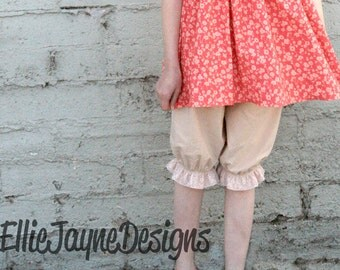 Lovely Lace Bloomers Knickers Capris
