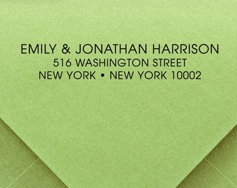 CUSTOM ADDRESS STAMP, Custom Rubber Stamp, Custom Self Inking Stamp, Custom stamp, Library Stamp, Business Address Stamp, Wedding Stamp 179