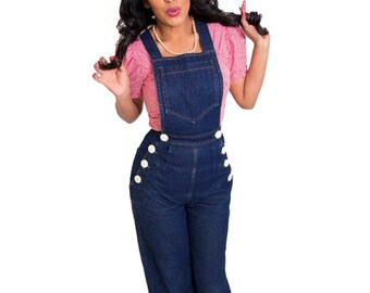 Pinup Girl Overalls Rockabilly Clothing SALE