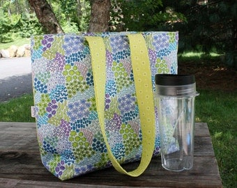 Insulated Lunch Bag CUSTOM lunch tote Extra Large Made to Order