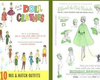 300 Vintage Barbie Patterns on CD,  Ken Clothes, Ken Doll Patterns, Ken, Barbie Doll Patterns, Ken Patterns, Barbie Clothes, Barbie Outfits,