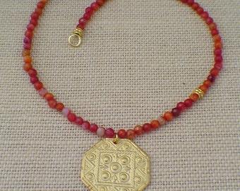 Firestone Necklace