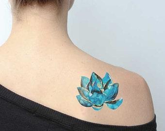 Universe Lotus Tattoo