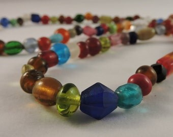 Mixed Glass Necklace