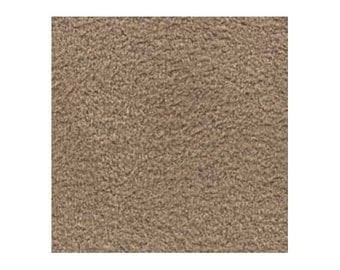 Ultrasuede Beading Foundation or Backing 43292 , Coffee Cream, 8.5 Inches, Ultra Suede Cabochon Backing, Bead Backing, Microfiber Fabric