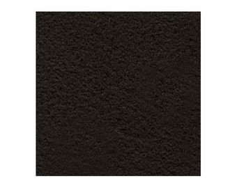 Ultrasuede Beading Foundation or Backing 43297 , Black Onyx, 8.5 Inches, Ultra Suede Cabochon Backing, Bead Backing, Microfiber Fabric