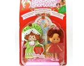 STRAWBERRY Scented Strawberry Shortcake 1991 Vintage Doll Shortcake Berry Sweet Sleepover Cute Character Doll MIP Mint in Original Packaging