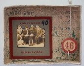 He Fancied Himself A Real Ladies Man But He Never Got Up The Nerve To Ask Him Out - Original Mixed Media Assemblage - Box Art
