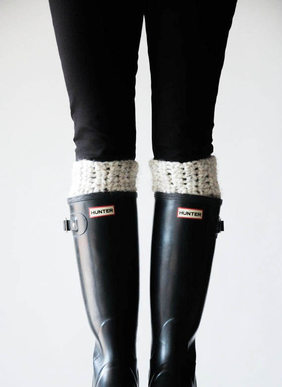 Boot Warmers Leg Warmers Boot Cuffs / THE ARCTICS / By Ozetta