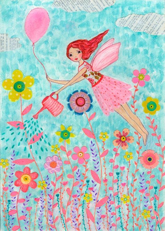 Fairy Art Garden Fairy...
