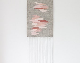handwoven wall hanging tapestry weaving | no. 060815