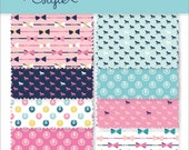 Cotton Fabric half yard bundle of 3 -  Derby Style  by Melissa Mortenson Riley Blake - select a colorway