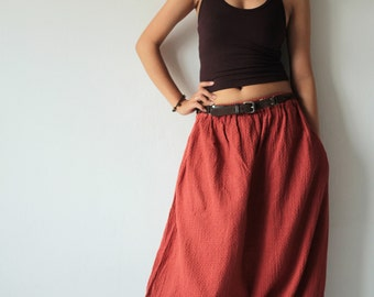 Leisure pants... Earth Red And all colour Available in M,L,XL