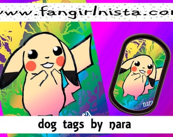 Pikachu Dog tag