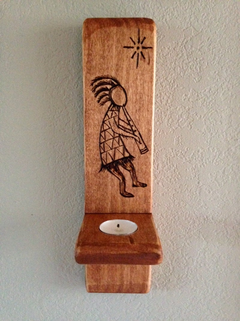 Kokopelli Wall Sconces : Kokopelli Wall Sconce