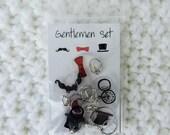 Gentlemen Stitch Markers
