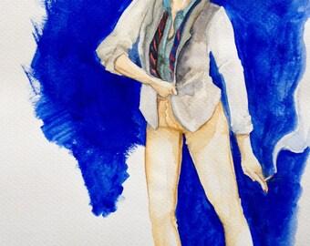 Blazer - original painting NOT a print