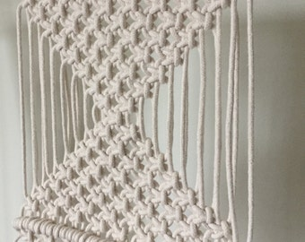 Macrame Wall Hanging - triangles