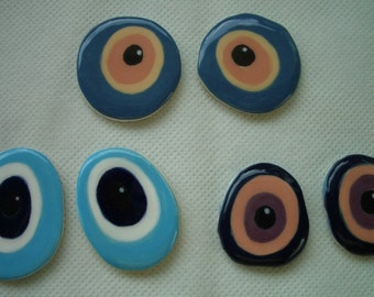4C - EYES PIE - Fun Eye Tiles - Ceramic Mosaic Tiles