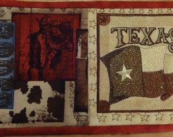 Rustic Texas Mug Rug