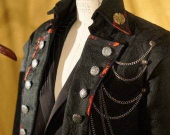 Rocker, Steampunk, and Goth Tuxedos with Tailcoats