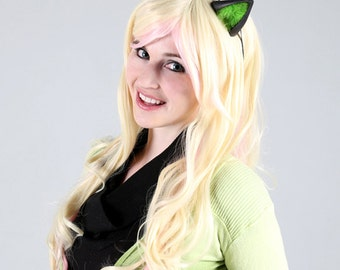 Cute Fox / Wolf Ears - 256 Color Combos - for Cosplay, Parties, Cons, Clubbing, Fun, Studio Photoshoot Props, Halloween Costume