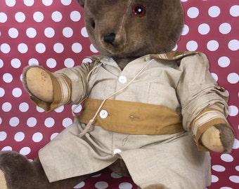 "Teddy Bear- Vintage- 24"""