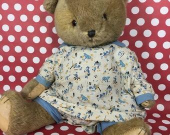 Teddy Bear- Dressed, Vintage