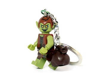 Goblin Keychain - made from Series 13 LEGO (r) Minifigure
