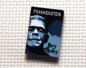 Needle Minder Miniature Book Frankenstein Mary Shelley 1 Inch