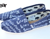 Calculus TOMS - Custom Hand Painted TOMS Shoes