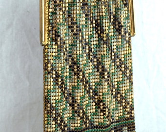 RARE Authentic Vintage 1920s Chain Bag Purse