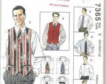 Men Fashion Accessories Patterns Mccalls Simplicity Sewing Pattern McCalls
