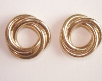 Napier Gold Tone Stud Earrings