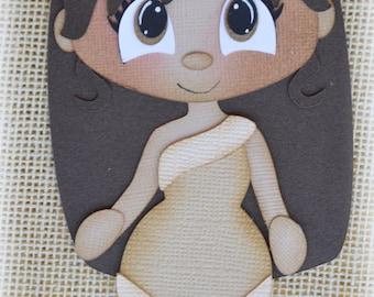 Disney Princess Pocahontas Premade Scrapbooking Embellishment Paper Piecing