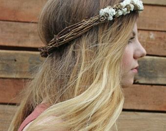 Neutral Flower Crown